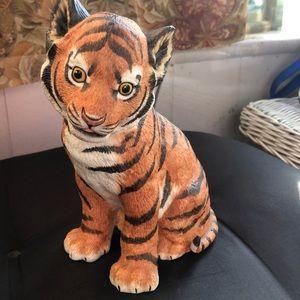 Vintage Lenox Endangered Baby Tiger Cub